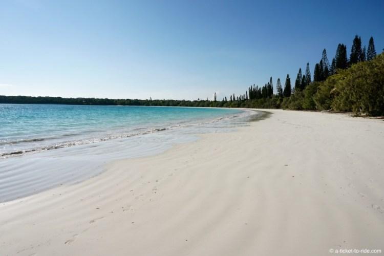 Nouvelle-Calédonie, Ile des Pins, plage de Kuto