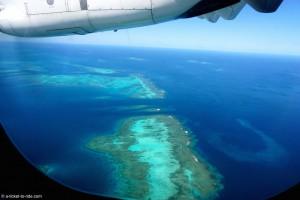Nouvelle-Calédonie, vue du ciel