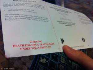 Singapour, peine de mort