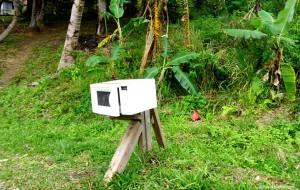 Nouvelle-Calédonie, boite aux lettres micro-ondes