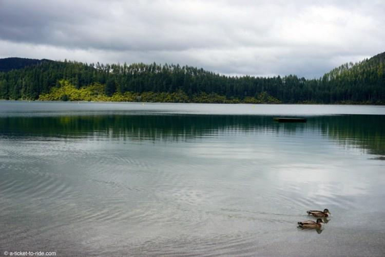 Nouvelle-Zélande, Blue lake