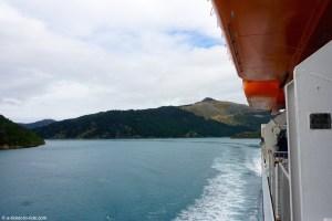 Nouvelle-Zélande, en ferry