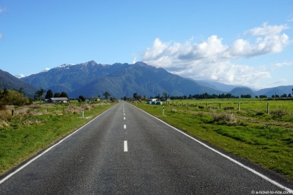 Nouvelle-Zélande, sur la route de Franz Joseph glacier