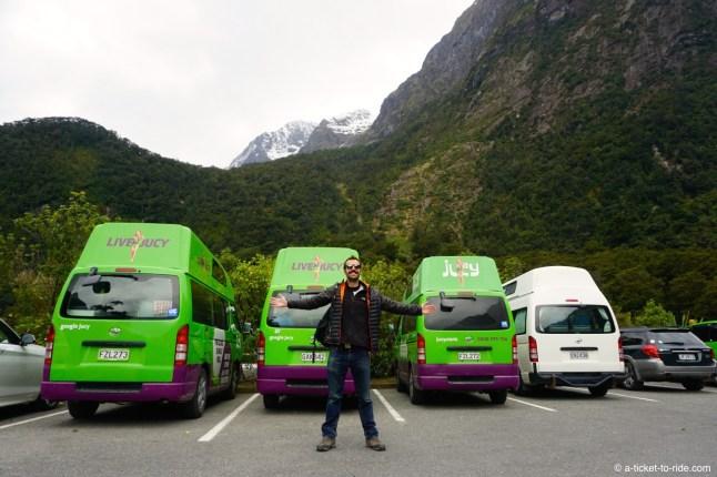 Nouvelle-Zélande, beaucoup de Jucy, un seul Ritchie