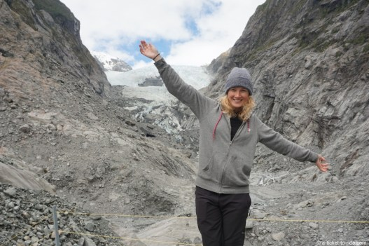 Nouvelle-Zélande, glacier Franz Joseph