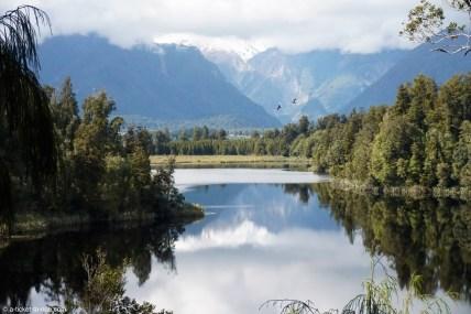 Nouvelle-Zélande, lac Matheson