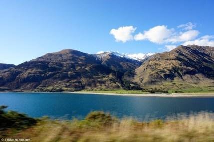 Nouvelle-Zélande, lac Wanaka