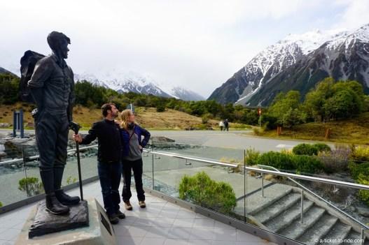 Nouvelle-Zélande, Mont Cook, musée Hillary