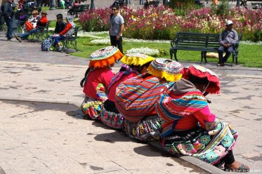 Pérou, Cusco, plaza de Armas