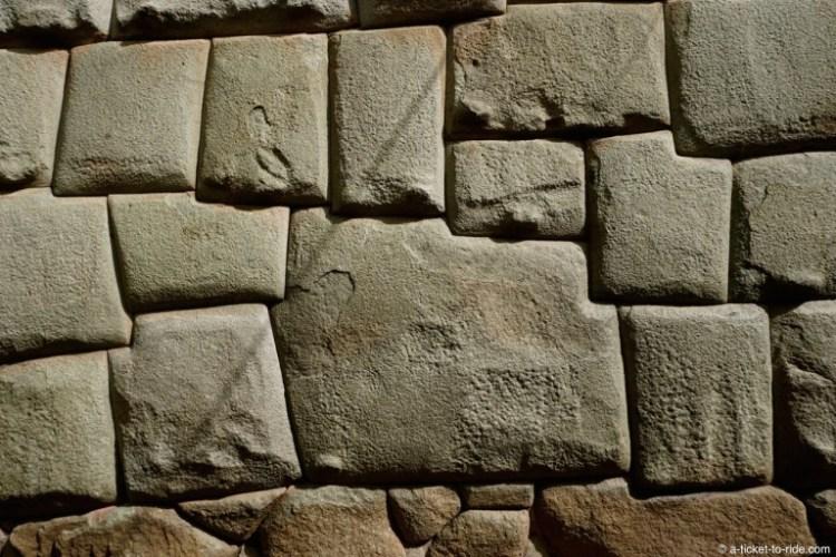 Pérou, Cusco, pierre aux 12 angles