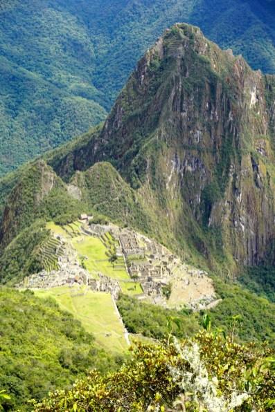 Pérou, Machu Picchu, depuis la montaña