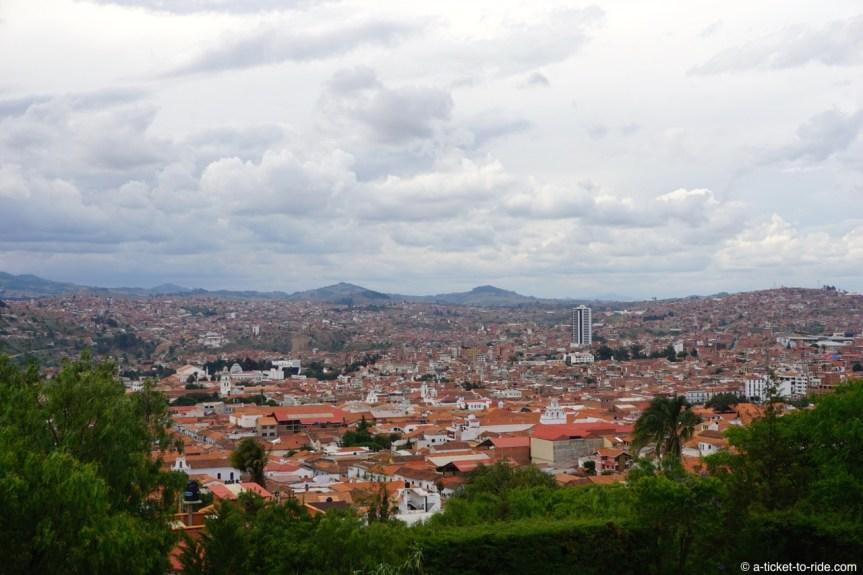 Bolivie, Sucre, vue depuis Recoleta