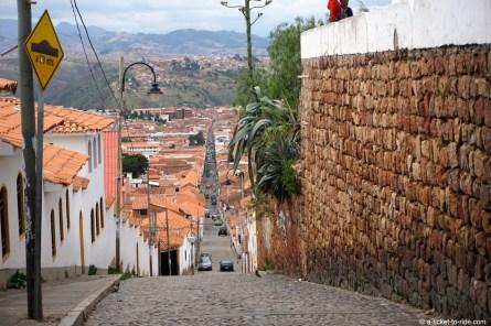 Bolivie, Sucre, Recoleta