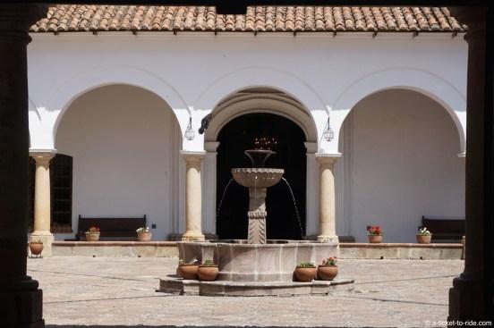 Bolivie, Sucre, casa de la libertad