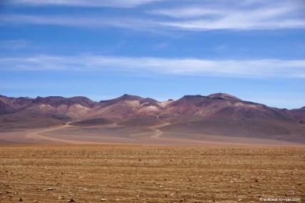 Bolivie, sud Lipez, désert de Siloli