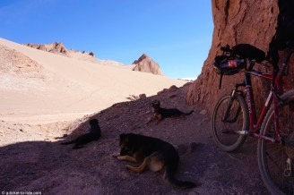 Chili, San Pedro de Atacama, valle de la muerte