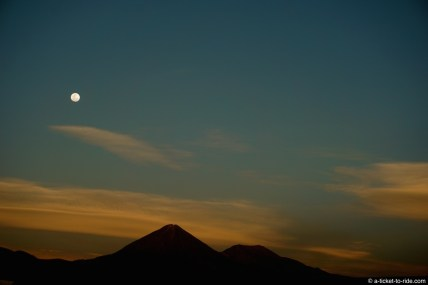 Chili, San Pedro de Atacama, volcan Licancabur