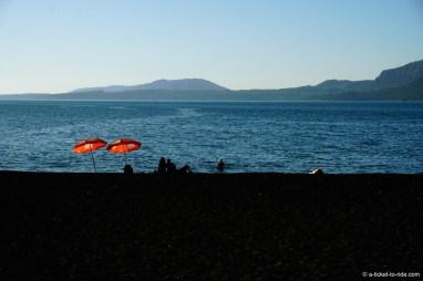 Chili, Pucón, lac Villarica