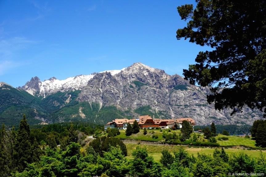 Argentine, Bariloche, hôtel Llao llao