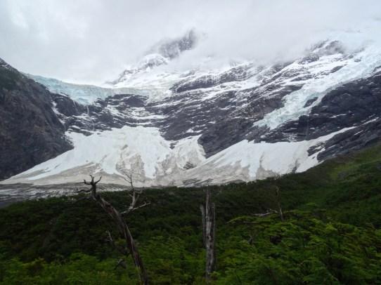 Chili, Torres del Paine, jour 2, glacier francès