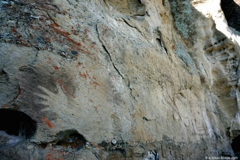 Argentine, El Calafate, grottes de Punta Walichu