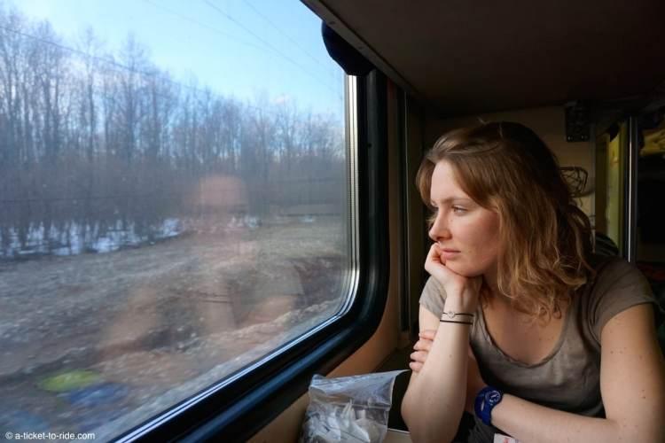 Russie, transsibérien, contemplation