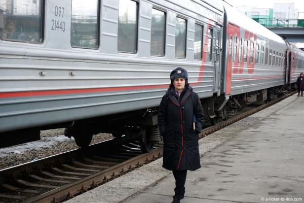 Russie, transsiberien, provonistva le long du quai