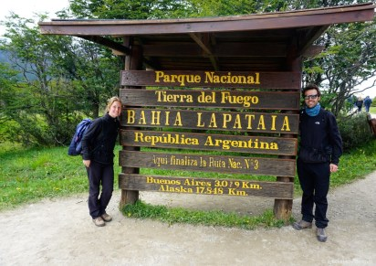 Argentine, parc national de la terre de feu