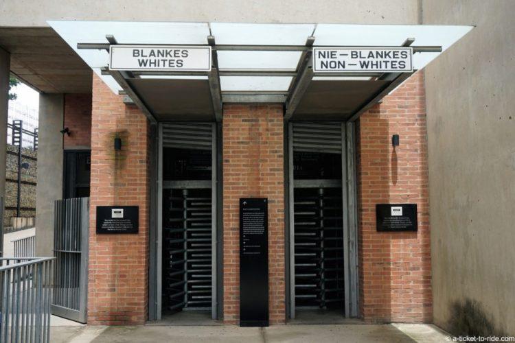 Afrique du Sud, Johannesburg, musée de l'Apartheid