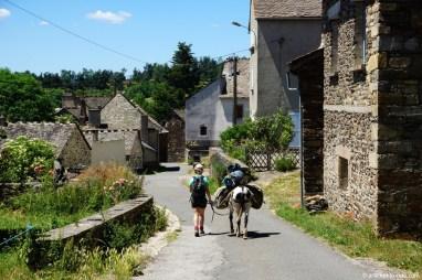 France, GR70, entre Chasseradès et Le Bleymard