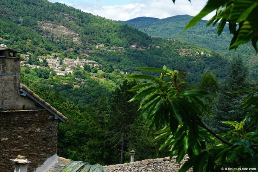 France, GR 70, entre Cassagnas et Saint-Etienne