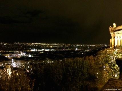 Lyon, depuis Fourvière