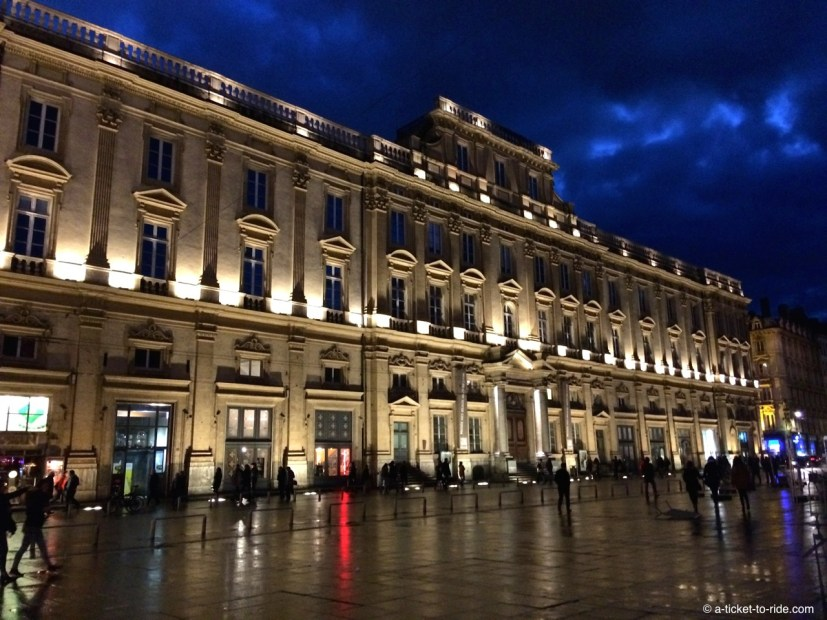Lyon, l'Hôtel de Ville, place des Terreaux