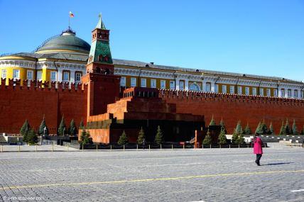 Russie, Moscou, mausolée de Lénine