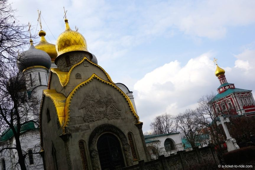 Russie, Moscou, monastère Novodievitchi