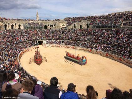 Nîmes, les Grands Jeux Romains