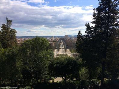 Nîmes, perspective Jean-Jaurès