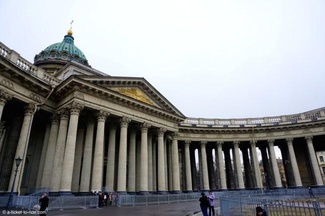 Russie, Saint-Pétersbourg, Notre-Dame-de-Kazan