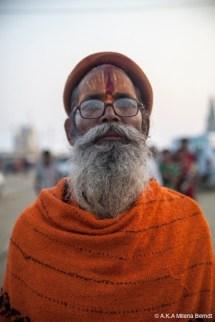 Inde-Khumbh Mela-portrait