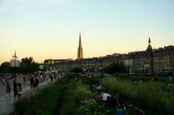 Bordeaux, flèche Saint-Michel