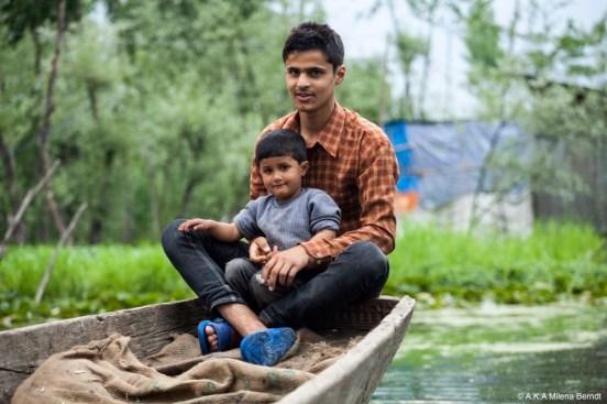 Inde, Srinagar, Cachemire