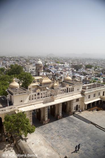 Inde, le fort d'Udaipur