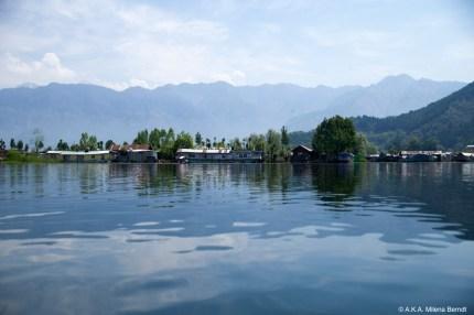 Inde, Cachemire, Srinagar, lac Dal