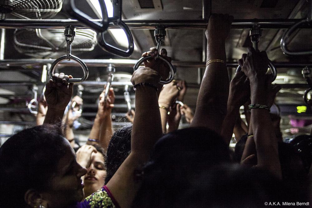 Inde, Mumbai, train