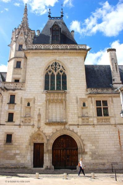 Bourges, façade Palais Jacques-Cœur