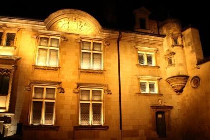 Bourges, Nuit lumière, façade