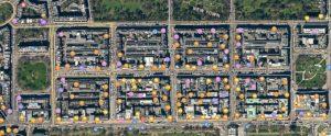 Ecosse, Édimbourg, plan New Town