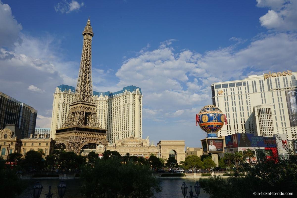 USA, Las Vegas, Tour Eiffel