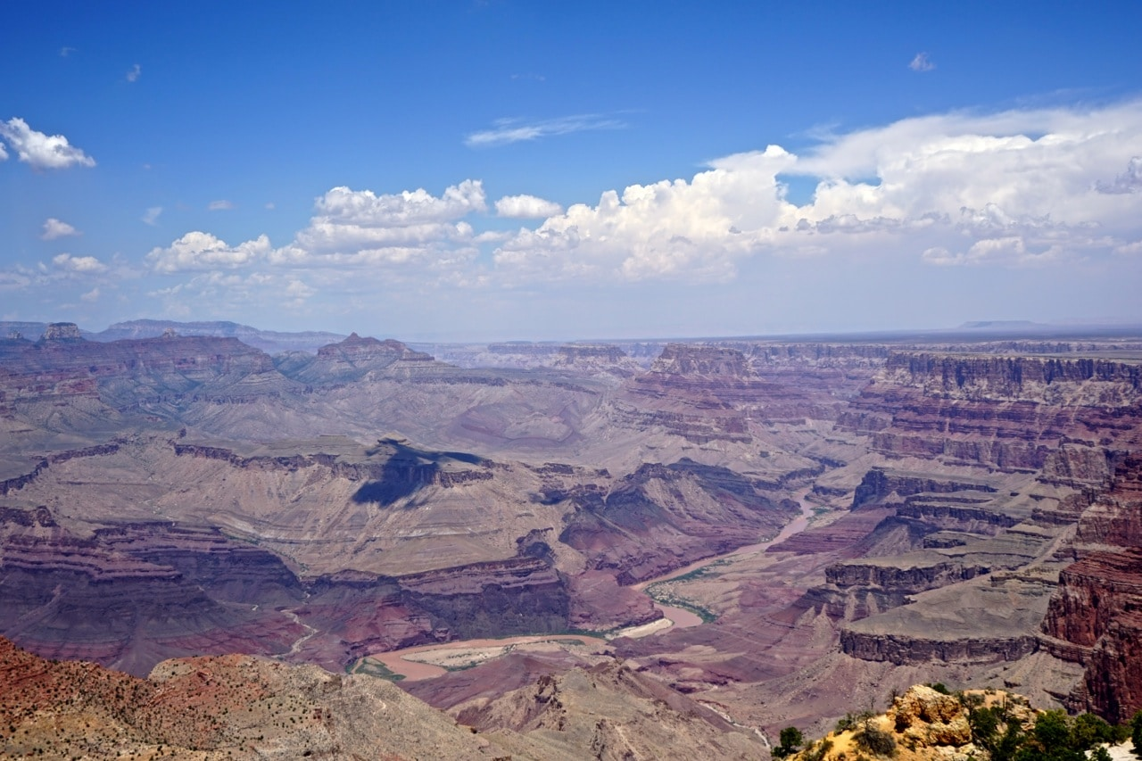 Grand canyon, Desert view panorama