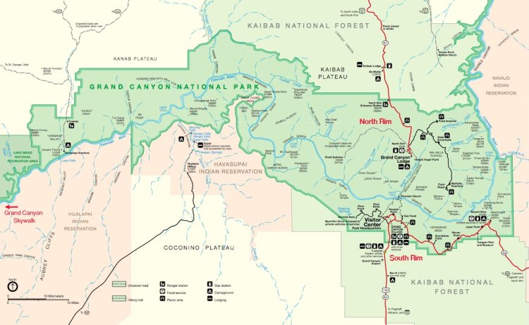 map-grand canyon-national-park